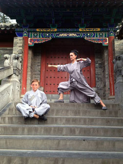 Shaolin-Training in China